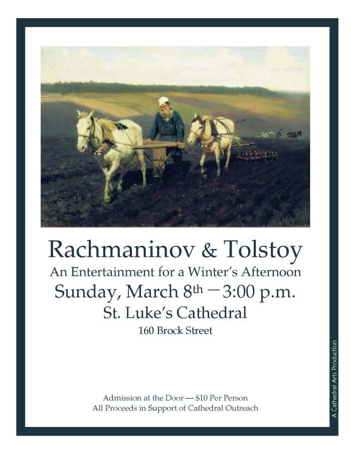 Rachmaninov and Tolstoy Poster