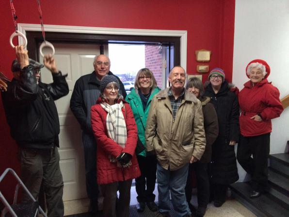 ringing the bells at H.T. nov 11